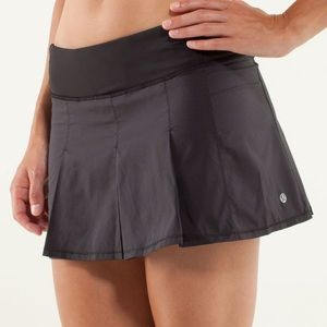 Lululemon Fast Cat Skirt- Black